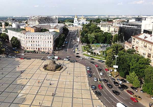 Прогулка по паркам Киева