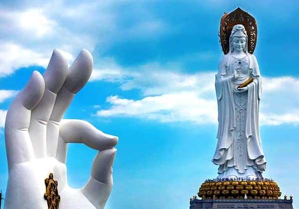 Статуя Гуань-инь на Хайнане – 78 метров