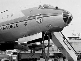 Как раньше летали в самолетах