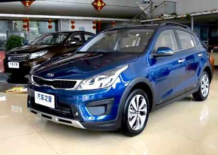 Kia K2 Cross, фото